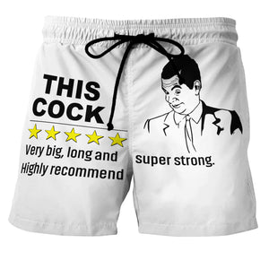 Highly recommended - Custom Swim Trunks