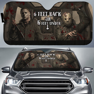 Horror 2 Car Sun Shade