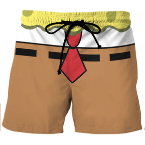 SpongeBob - Custom Swim Trunks