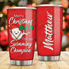 Swimming Champion - Personalized Tumbler