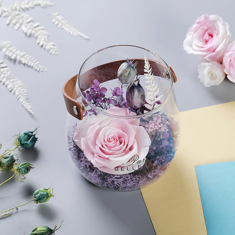 Preserved Rose in Handy Glass! - my-haha-gifts