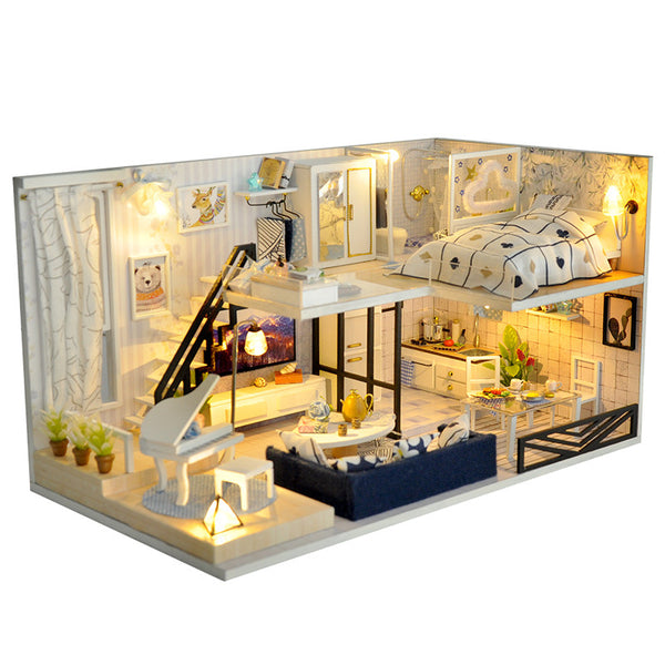 Build your own house! DIY 3D Miniature Doll House - my-haha-gifts