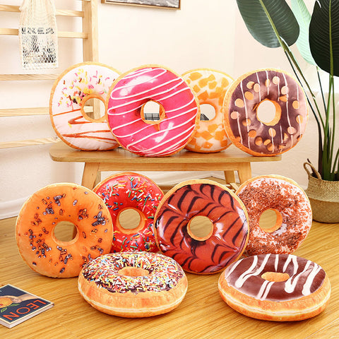 Donut Cushion - my-haha-gifts