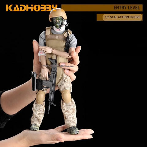 KadHobby NB03 1/6 Scale 30cm Action Figurine - Soldier of Courage