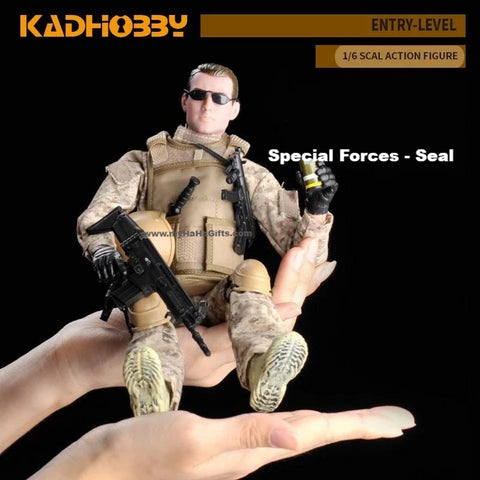 KadHobby NB01 1/6 Scale 30cm Special Forces Seal Action Figurine