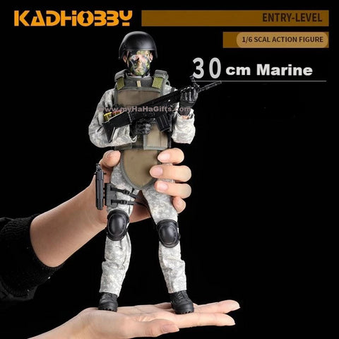 KadHobby NB02 1/6 Scale 30cm Marine Soldier Action Figurine