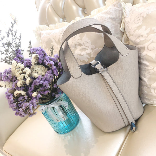Modern Soft PU Leather Bucket BagProduct No: - my-haha-gifts