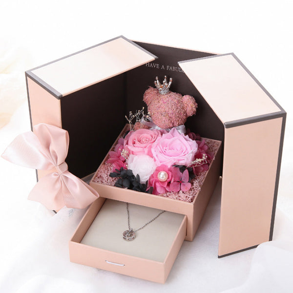 Beautiful Preserved Flower - Rose Gift Box Set! - my-haha-gifts