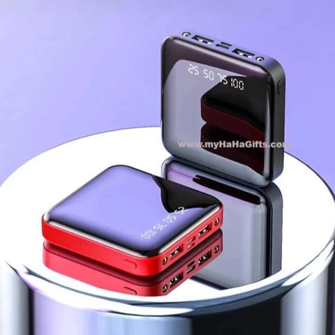6000/10000mAh Full Mirror Power Bank - GE-PB-A3