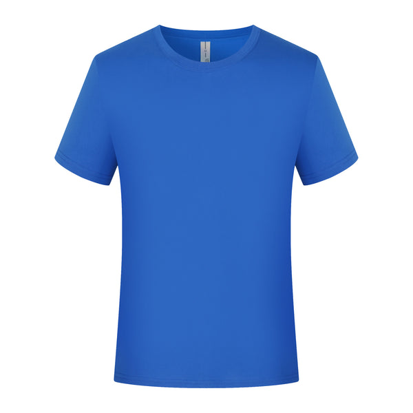 Pure Cotton Round Neck Tee - Customize Your Own Design - TS-RNT01