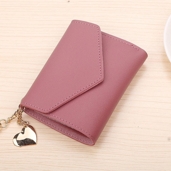 Small Luxury Leather Short Wallets - my-haha-gifts