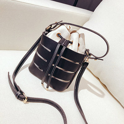 PU Leather Bucket Bag - my-haha-gifts
