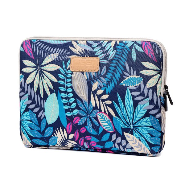 LISEN colorful leaf notebook sleeve bag 10/11/12/13/14 inch 15.6 inch computer bag - my-haha-gifts