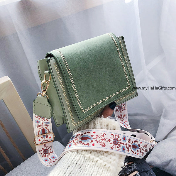 PU leather Ladies Handbag _ FA-5378