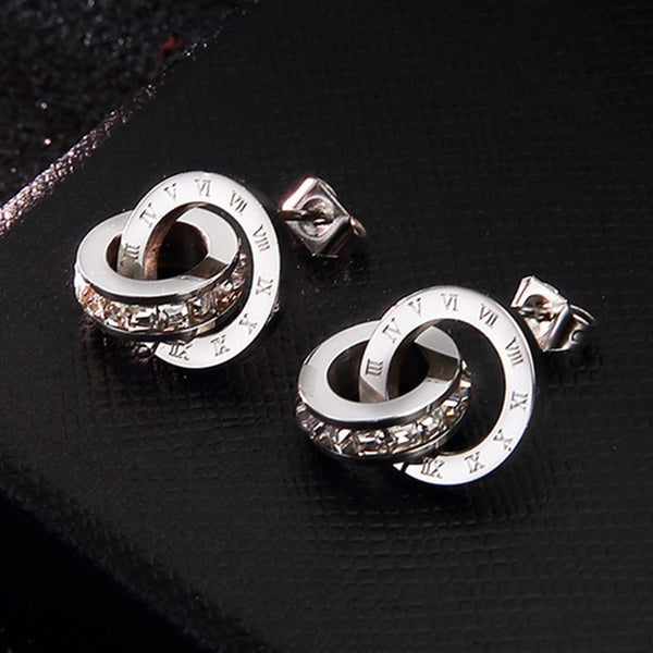 Stainless Steel Earrings - my-haha-gifts