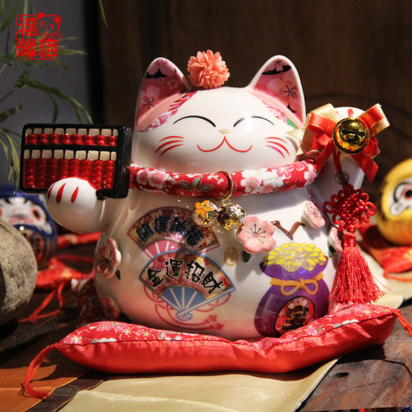 Japanese Style Fortune Cat Coin Bank! - my-haha-gifts