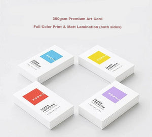 Matt Lamination Business Card
