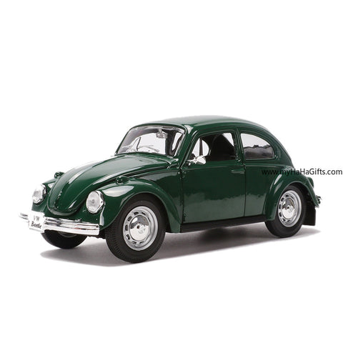 Maisto 1:24 Scale Retro Classic Beetle Replica - my-haha-gifts