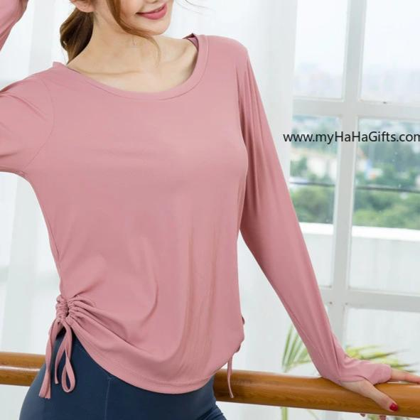 Ladies Quick Dry Long Sleeve Fitness Top FN-8119