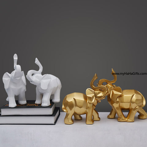 Accessorize your home with this lovely pair of elephant! - my-haha-gifts