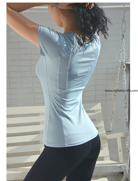 Ladies Quick-Dry Fitness Top FN-015