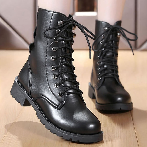 Comfortable Leather Boots - my-haha-gifts
