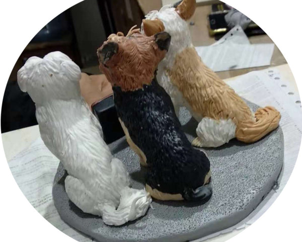 FG19-A006 - Pet Figurine (Single Piece Pricing) - my-haha-gifts