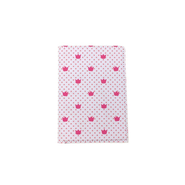 PU Leather Crown Stars Passport Holder - my-haha-gifts