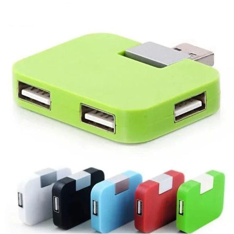 Mini portable USB 4 Port Hub GE-UH-A1