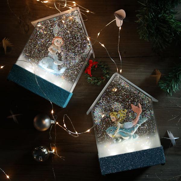 Snowflakes LED Crystal Light Decoration - my-haha-gifts