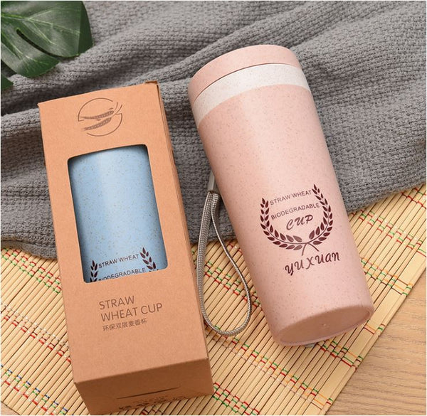 Bio-Degradable Straw Wheat Cup LS-WB-A1