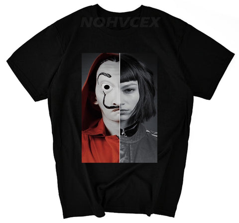La Casa De Papel T Shirt Money Heist - my-haha-gifts