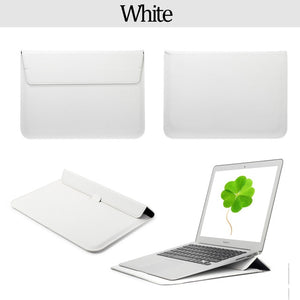 Leather Sleeve /Bag Case For Macbook Air - my-haha-gifts