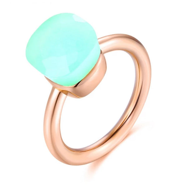14K Rose Gold Ring - my-haha-gifts