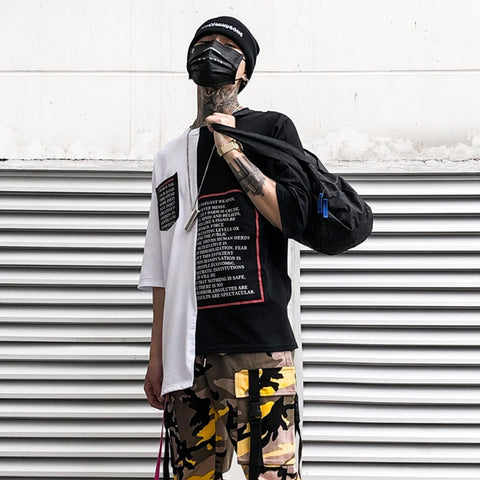 Hip Hop Casual Male Streetwear - my-haha-gifts