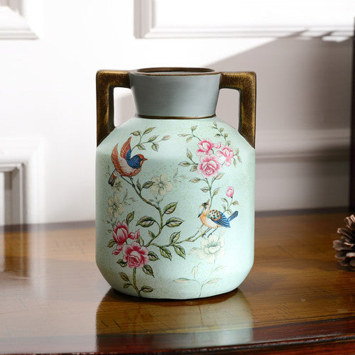 Handcrafted Retro European style Vase - my-haha-gifts