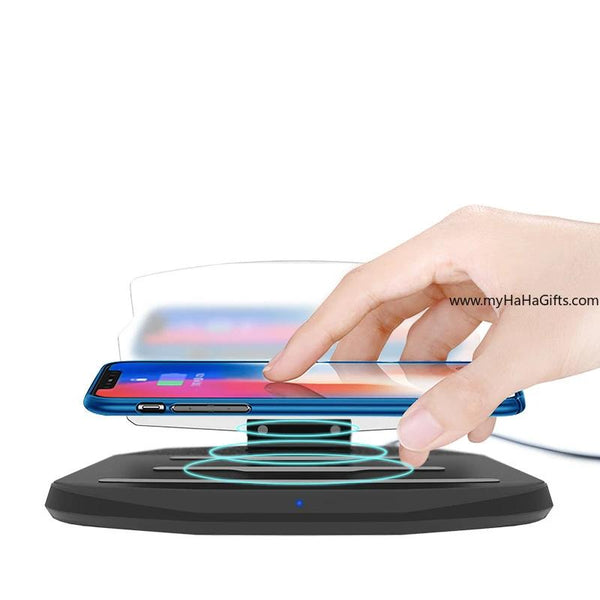 Wireless charging HUD car mobile phone navigation stand