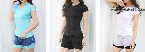 Ladies Quick Dry Fitness Top FN-008