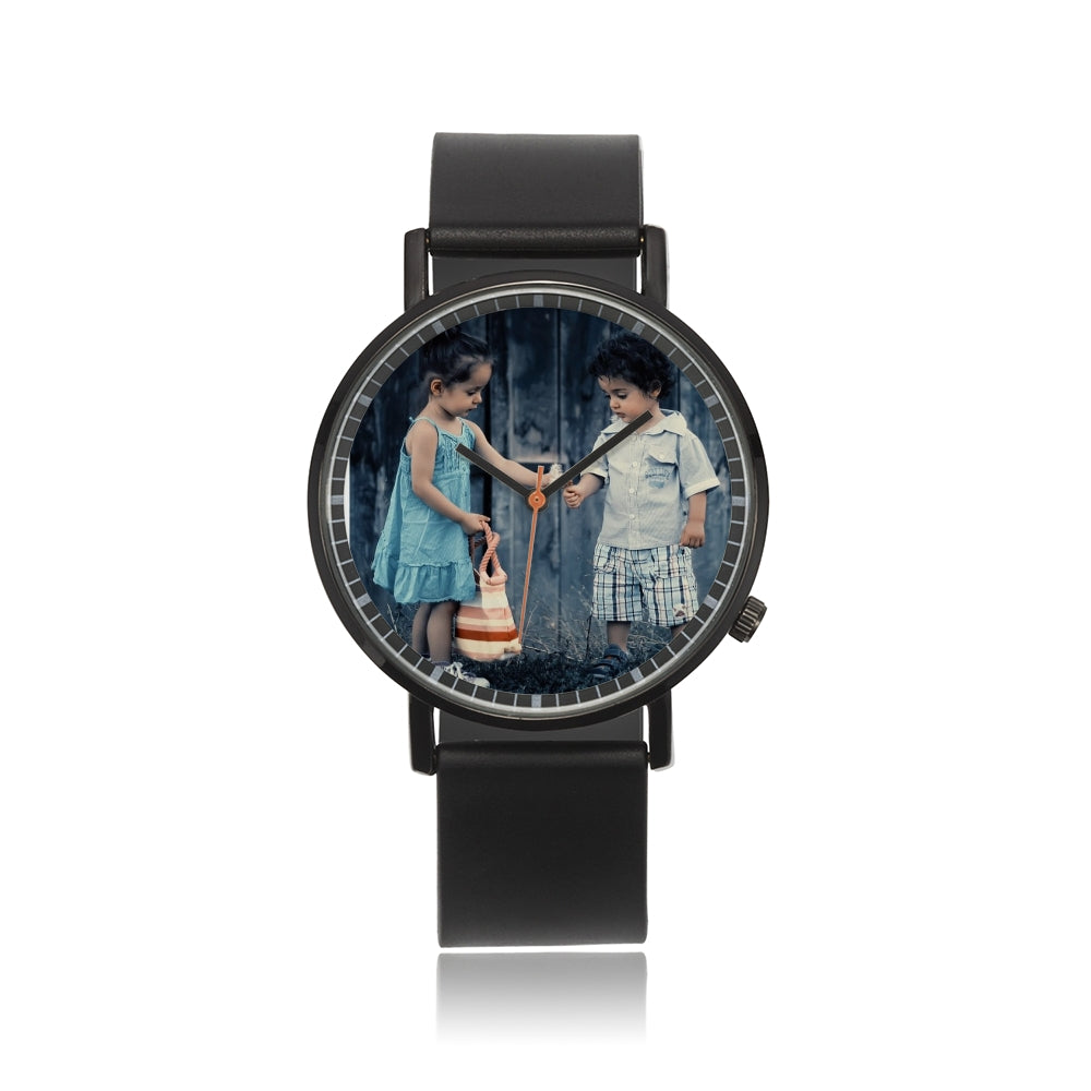 Hot-Sale Black Double-Layer Quartz Watch - my-haha-gifts