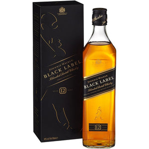 Johnnie Walker Black Label 12yr. Blended Scotch Whisky 750mL