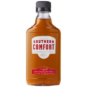 Southern Comfort - Whiskey Liqueur 200mL Type: Liquor Categories: 200mL, Liqueur, quantity high enough for online, size_200mL, subtype_Liqueur. Buy today at Wine and Liquor Mart Poughkeepsie