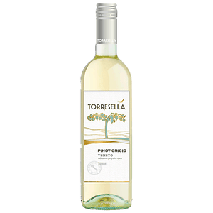 Torresella Pinot Grigio 750mL Type: White Categories: 750mL, Italy, Pinot Grigio, quantity high enough for online, region_Italy, size_750mL, subtype_Pinot Grigio. Buy today at Wine and Liquor Mart Poughkeepsie
