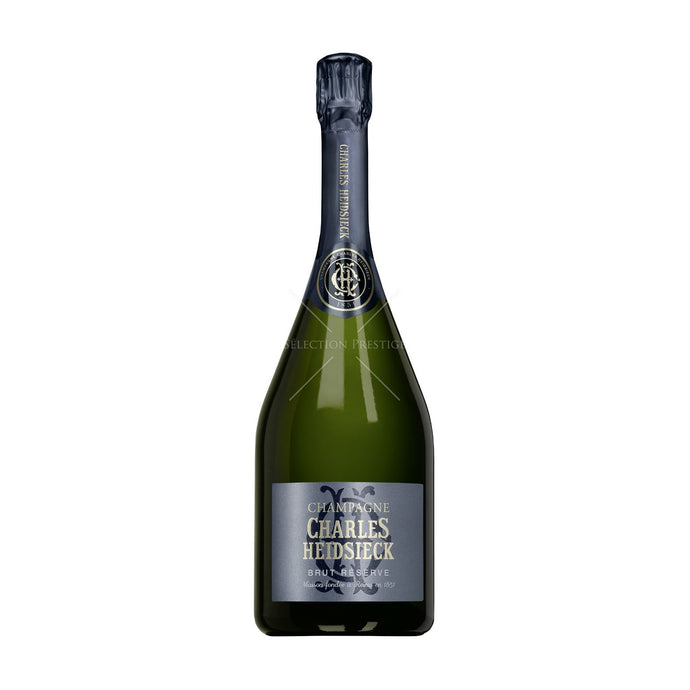 Charles Heidsieck Brut Reserve Champagne 750mL Type: Champagne & Sparkling Categories: 750mL, Champagne, France, quantity high enough for online, region_France, size_750mL, subtype_Champagne. Buy today at Wine and Liquor Mart Poughkeepsie