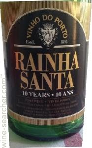 Rainha Santa 10 Years Porto 750mL Type: Dessert & Fortified Wine Categories: 750mL, Port, Portugal, region_Portugal, size_750mL, subtype_Port. Buy today at Wine and Liquor Mart Poughkeepsie