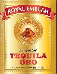 Royal Emblem Oro Tequila 1.75L Type: Liquor Categories: 1.75L, quantity high enough for online, size_1.75L, subtype_Tequila, Tequila. Buy today at Wine and Liquor Mart Poughkeepsie