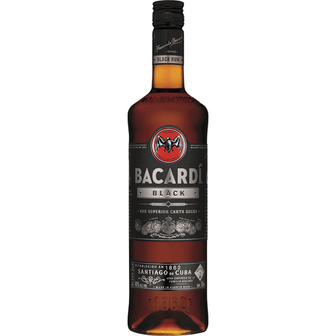Bacardi Black Rum 1L Type: Liquor Categories: 1L, Flavored, quantity high enough for online, Rum, size_1L, subtype_Flavored, subtype_Rum. Buy today at Wine and Liquor Mart Poughkeepsie