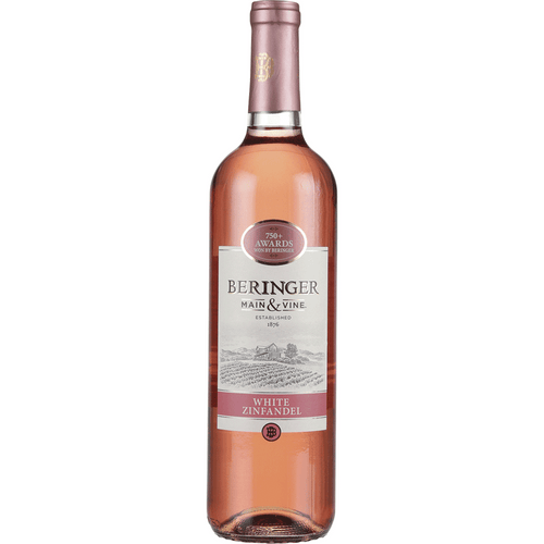 Beringer - White Zinfandel 750mL Type: White Categories: 750mL, California, quantity high enough for online, region_California, size_750mL, subtype_White Zinfandel, White Zinfandel. Buy today at Wine and Liquor Mart Poughkeepsie