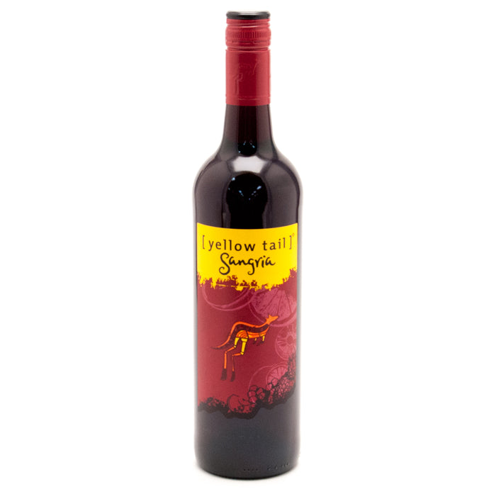 Yellow Tail Sangria 750mL Type: Red Categories: 750mL, Australia, Red, region_Australia, Sangria, size_750mL, subtype_Red, subtype_Sangria. Buy today at Wine and Liquor Mart Poughkeepsie
