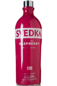 Svedka Raspberry Vodka 1 L Type: Liquor Categories: 1L, Flavored, quantity high enough for online, size_1L, subtype_Flavored, subtype_Vodka, Vodka. Buy today at Wine and Liquor Mart Poughkeepsie
