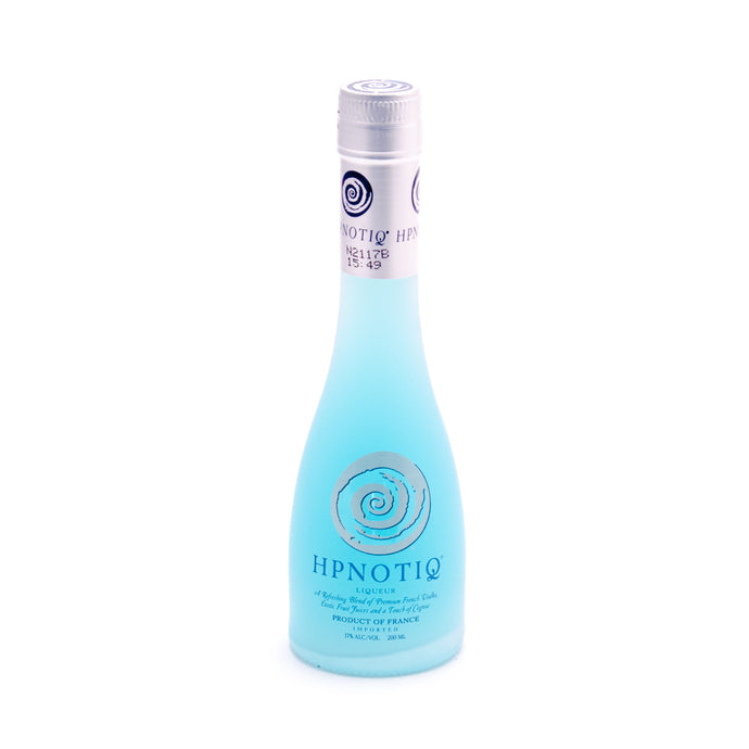 Hpnotiq Liqueur 200ml Type: Liquor Categories: 200mL, Liqueur, quantity high enough for online, size_200mL, subtype_Liqueur. Buy today at Wine and Liquor Mart Poughkeepsie